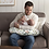 Thumbnail: Boppy Original Feeding & Infant Support Pillow | Pink Garden