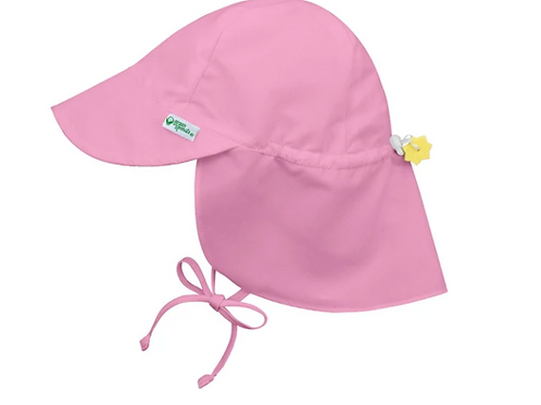Flap Sun Protection Hat   Light Pink