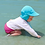 Thumbnail: Breathable Swim + Sun Flap Hat | Blue