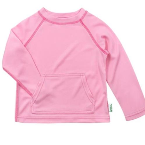 Breathable Sun Protection Swim Shirt | Light Pink