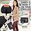 Thumbnail: Ezee Diaper Mat | Black Geo