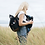 "Thumbnail: The ""Robyn"" Babymel Diaper Bag Backpack | Black"