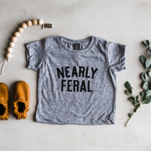 Nearly Feral T-Shirt | Gray