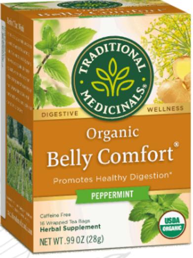 Organic Belly Comfort Tea | Peppermint