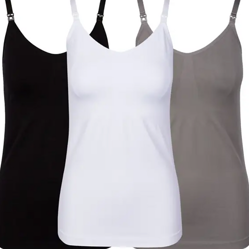 JLIKA Nursing and Pregnancy Cami - Maternity