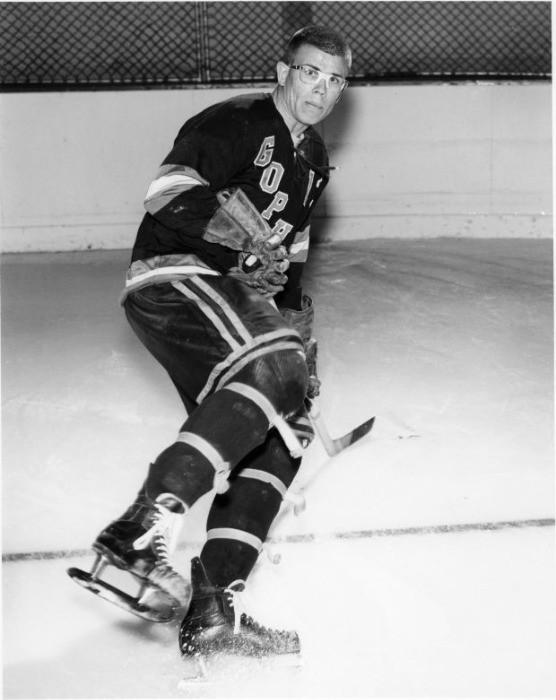 Jake McCoy hockey photo at the University of Minnesota