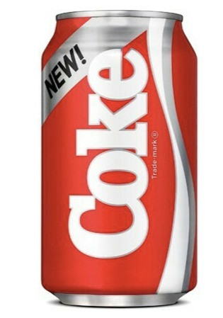 New Coke Branding Fail