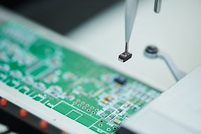 Automated microchip semiconductor SMT pl