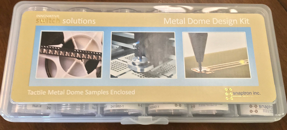 Electronics components sample kit for design engineers