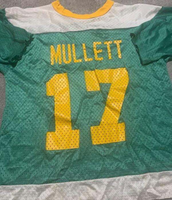 Jon Mullett's Lincoln Mites hockey jersey