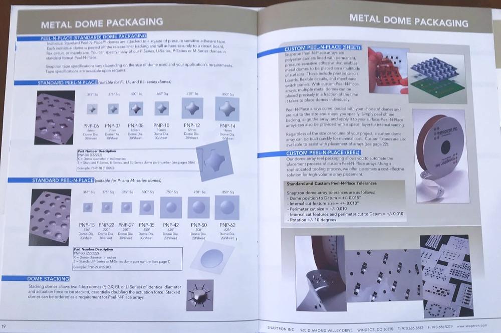 Marketing catalog b2b company