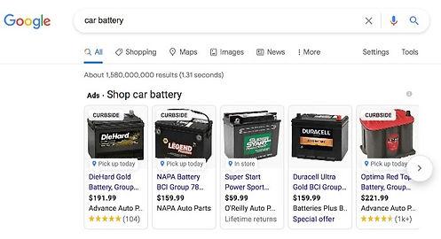 Google Shopping Online Ads
