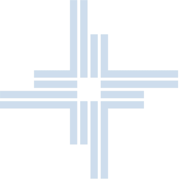 HANA HTI Logo Icon Blue