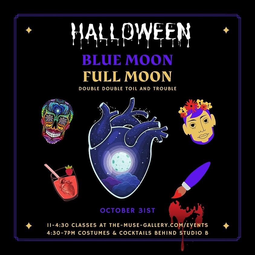 Halloween Blue Moon Full Moon!