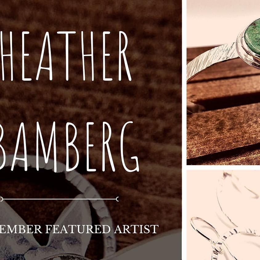 Heather Bamberg, November Featured Artist
