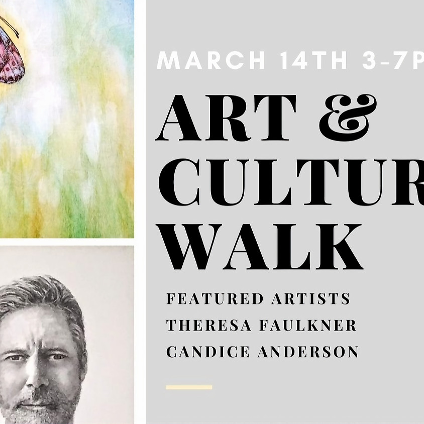 March 14th ~ 2nd Saturday Art and Culture Walk ~