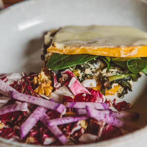 Lasagne végétale au butternut