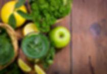 smoothie ou jus epinard citron persil po
