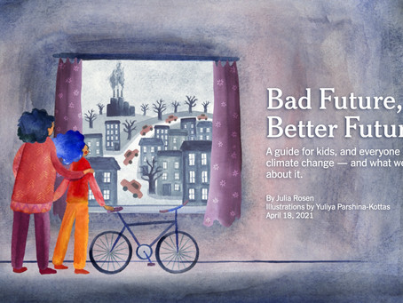 New York Times takes after HPB with a climate change guide for kids
