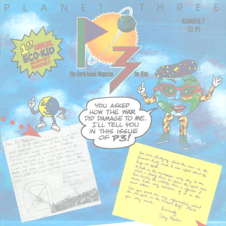 P3 – Fall 1991 issue cover