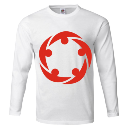 T-SHIRT HOMME MANCHES LONGUES UNICOLORE 100 % COTON FRUIT OF THE LOOM®