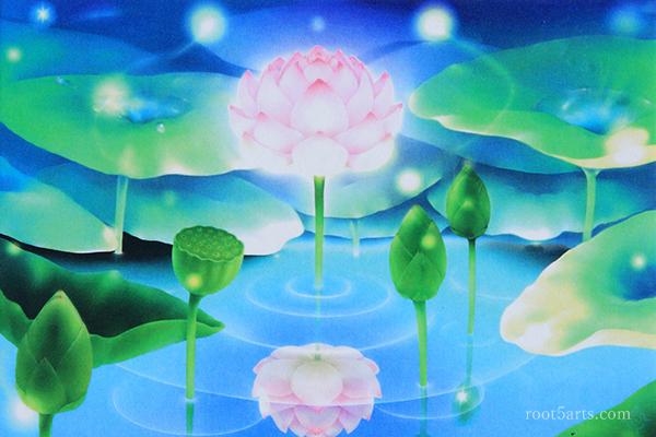 【相火】湖面の蓮