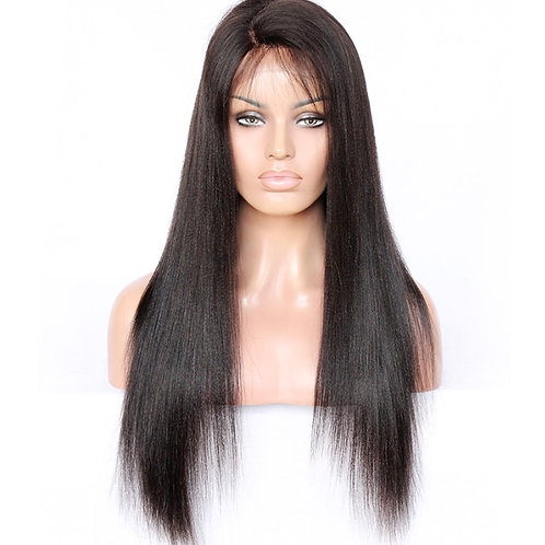 "Glueless ""Asylum Straight"" Wig 180% Density"