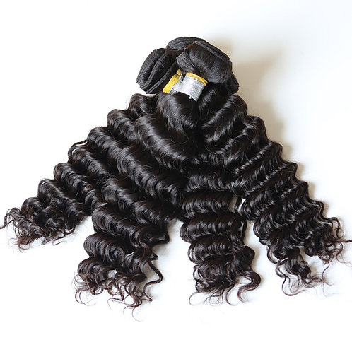Bella Silk Indian Raw Curly 4 Bundles