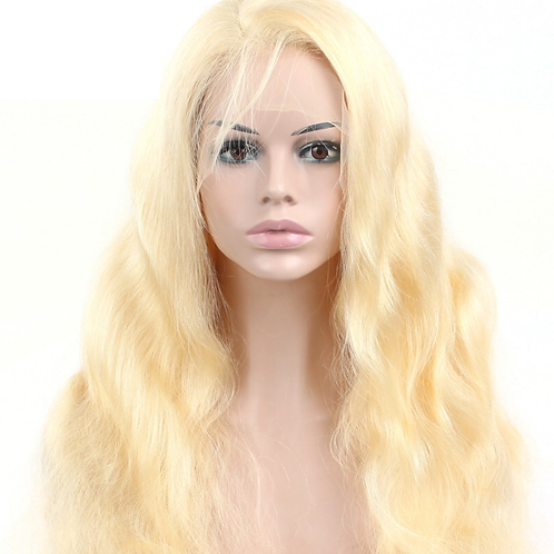 "Mad Blonde ""Intense Waves"" Wig 200% Density"