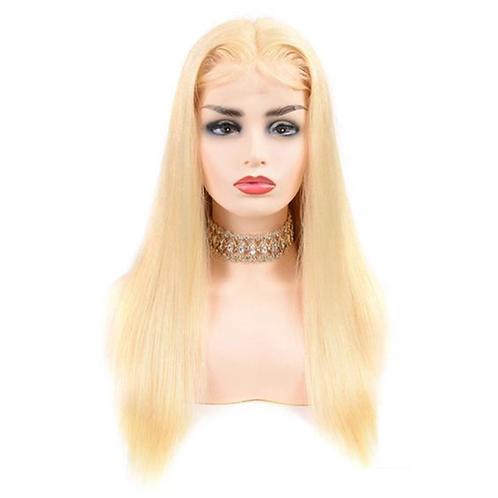 "Mad Blonde ""Asylum Straight"" Wig 200% Density"