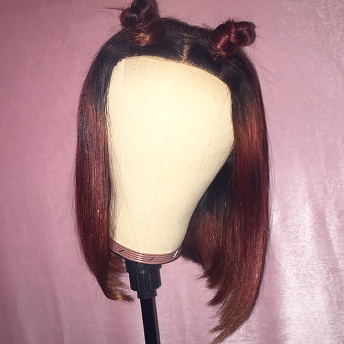 """Jazzy"" Asylum Straight Lace Closure Custom Unit"