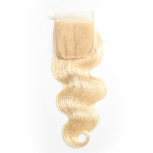 Mad Blonde Lace Closure Body Wave