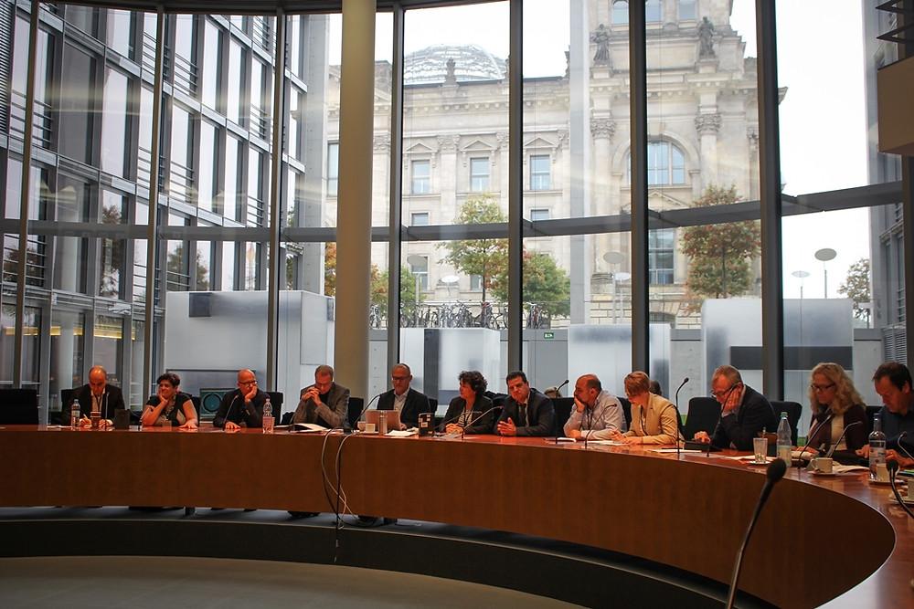 وفد القائمة المشتركة برئاسة النائبين عودة وغنايم في جولة رسمية الى برلين