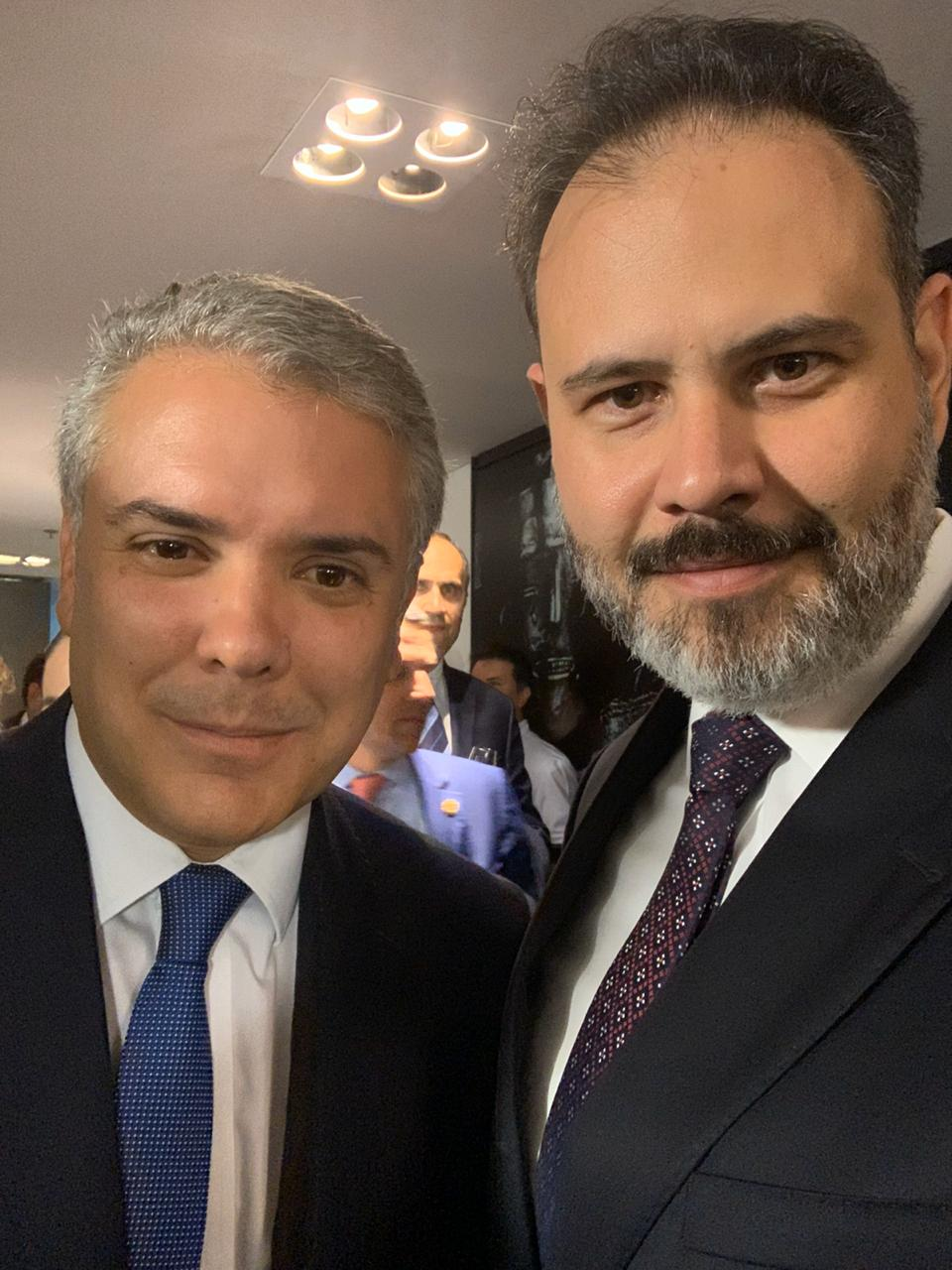 Ricardo Gomes_presidente Colombia Ivan D