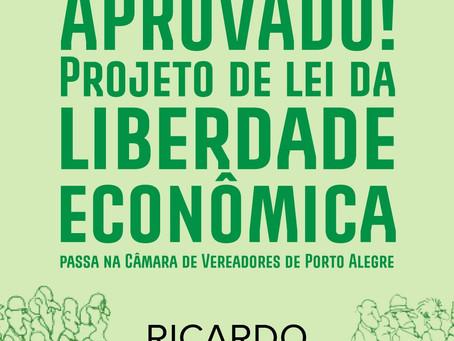 Aprovada Lei da Liberdade Econômica em Porto Alegre