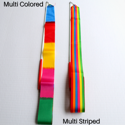 Multi Colored Worship Streamers Ribbons
