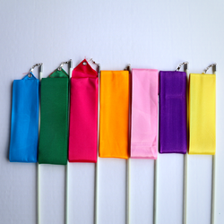 Solid Color Worship Streamer RIbbons