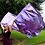 Purple Worship Flag
