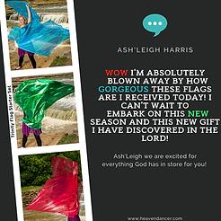Ashleigh Harris Worship Flag Testimony