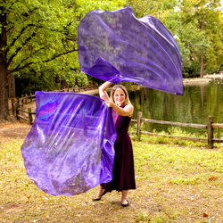 Royal Diadem Purple Worship Flags 1