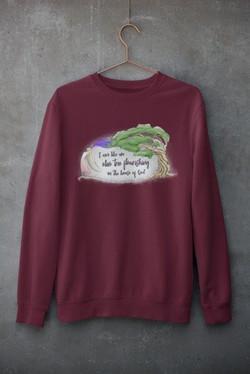 Sweatshirt (Maroon)