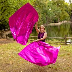 Stargazer Lily Fuchsia Pink Worship Flag
