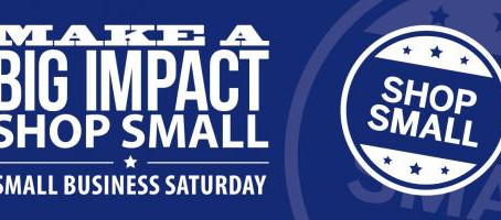 It's Small Business Saturday!