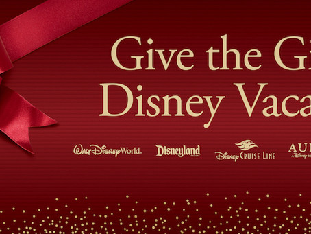 Give the Gift of Disney Vacations!
