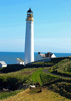 Scurdie ness lighthouse one