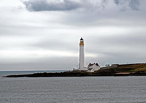 scurdie ness lighthouse three