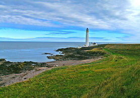 scurdie ness lighthouse two