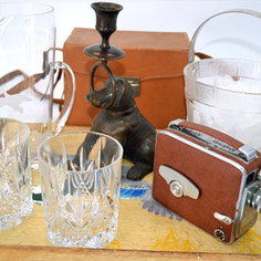 Lights Camera Action Bar Cart Collection-The Hundredth Monkey