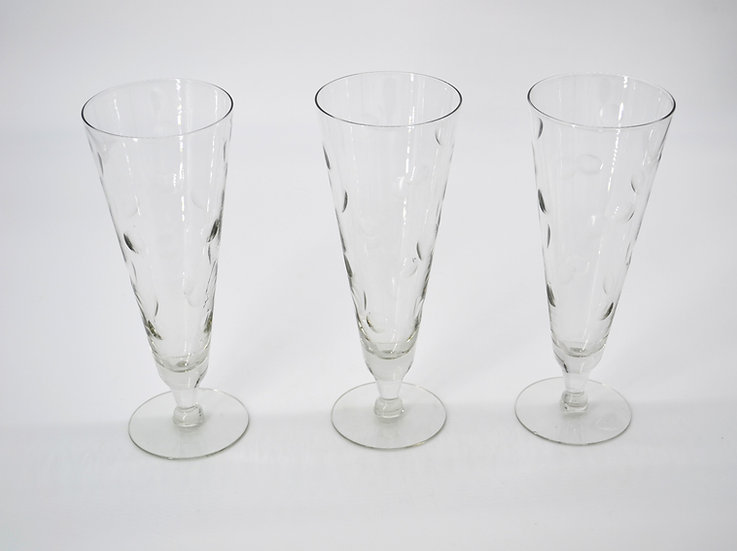 Beer Glass Set of 3