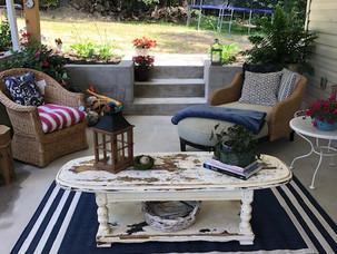 """A """"She Shed"""" Porch Renovation On A Budget"""